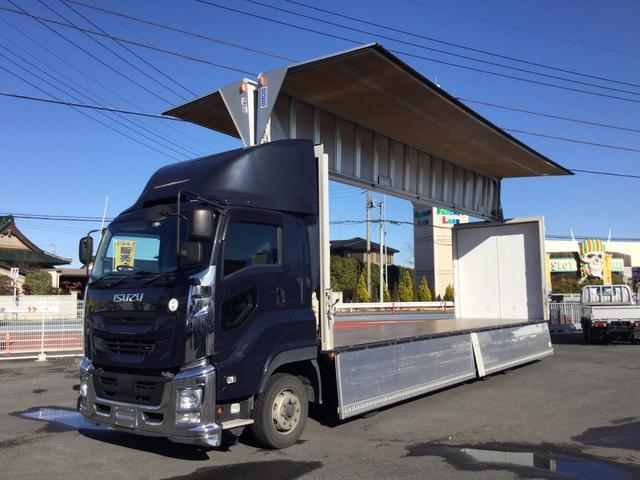 いすゞ 日本トレクスアルミウィング セイコラック2対 積載13.7t