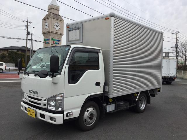 いすゞ キタムラアルミバン 切り替え式4WD ラッシングレール2段