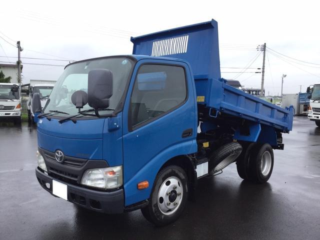トヨタ ダイナトラック 極東ダンプ 積載2t 5速マニュアル ブルー ターボ