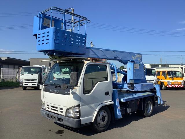 いすゞ エルフトラック  高所作業車 アイチスカイマスターSS12A 11.9m アワーメーター3878.1H