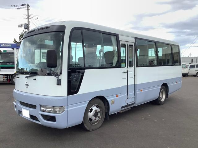 日産 シビリアンバス  マイクロバス 乗車定員29人 オートステップ 左自動ドア