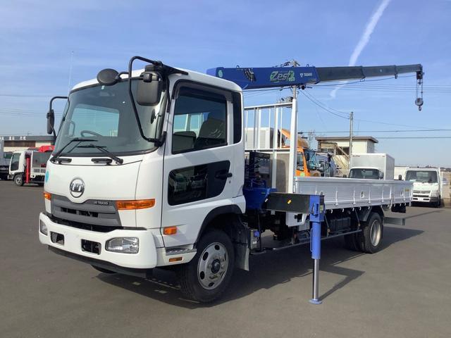UDトラックス コンドル  タダノ4段 2.93t ZE304HR セイコラック2個 ロープ穴6個 ボディ 下回り仕上げ塗装済み