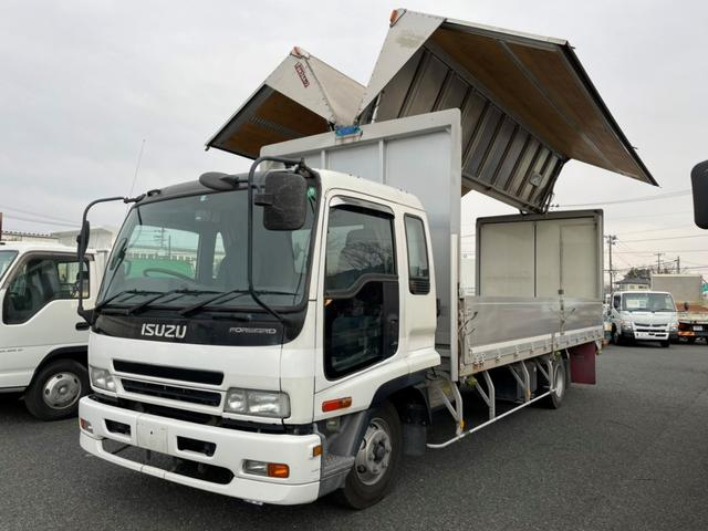 いすゞ フォワード  日本フルハーフ ラッシングレール2段 セイコラック2個 床枠フック10個
