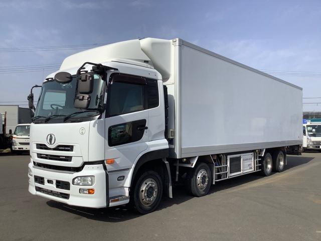 UDトラックス  東プレ冷蔵冷凍車 キャリアサブエンジン式冷凍機 低温