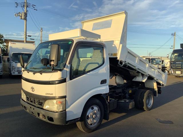 トヨタ ダイナトラック  ダンプ 積載2t 全低床 5速マニュアル