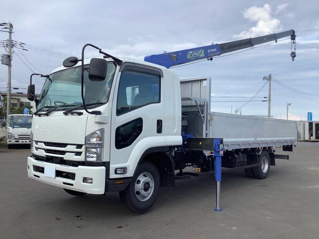 いすゞ  タダノ4段クレーン車 ラジコン フックイン付 最大積載量1800kg
