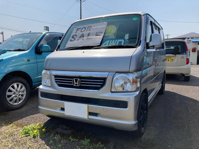 ホンダ G 4WD キーレス ETC バックカメラ AW オーディオ付