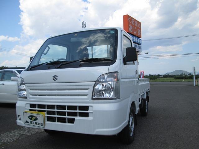 スズキ キャリイトラック KCエアコン・パワステ 4WD エアコン パワステ 三方開 5速MT