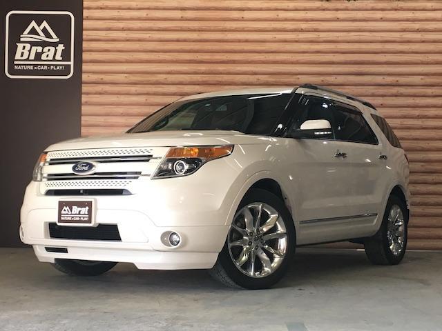 フォード リミテッド サンルーフ 黒革シート パワーバックドア ETC