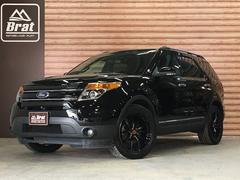 フォード エクスプローラーリミテッド サンルーフ レイズ20AW 黒革シート ETC
