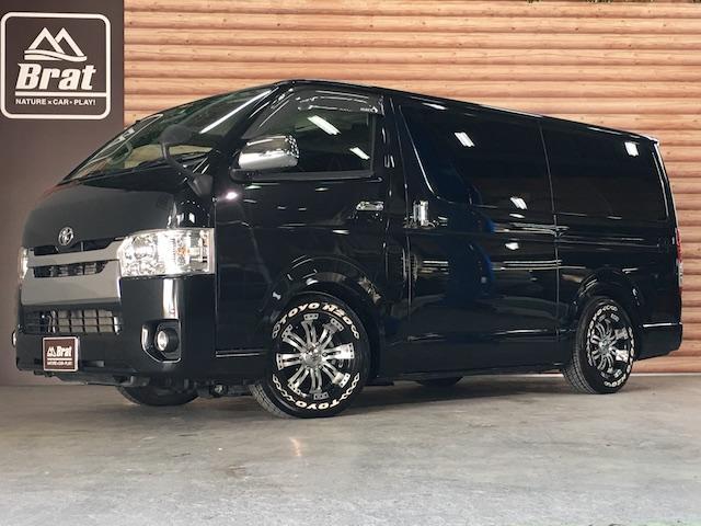 トヨタ スーパーGL 4WD ローダウン クエルボ8AW ベット付き