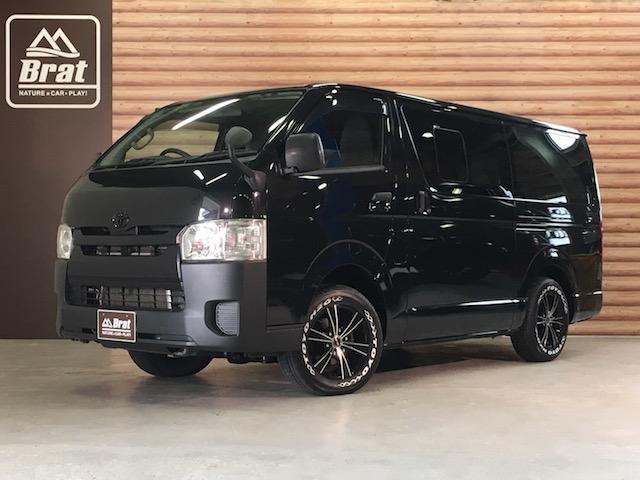 トヨタ DX 軽油 4WD MKW16AW 新品タイヤ SDナビ
