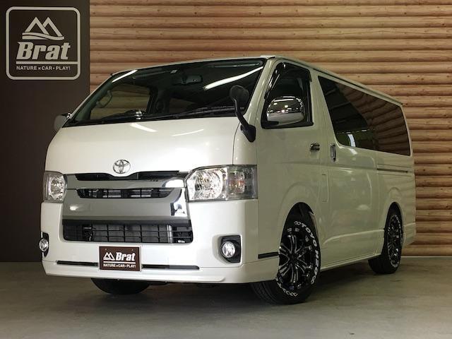 トヨタ スーパーGLエアロ/デイトナ/新品タイヤ/両側Pスライドドア