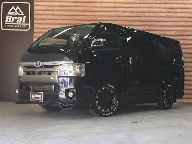 トヨタ スーパーGLダークプライム DT4WD 両側Pスラ SDナビ