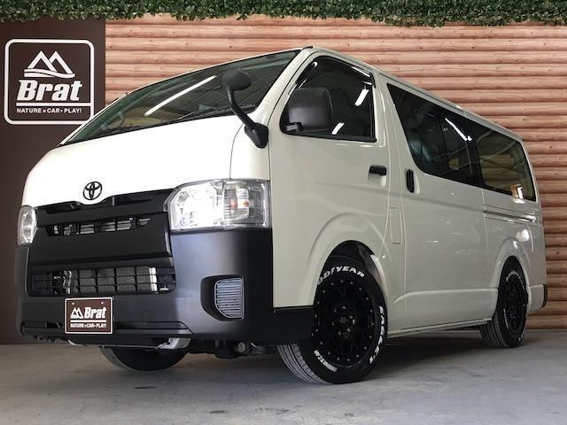 トヨタ ロングDX/4WD/SDナビ/社外16インチAW/ローダウン