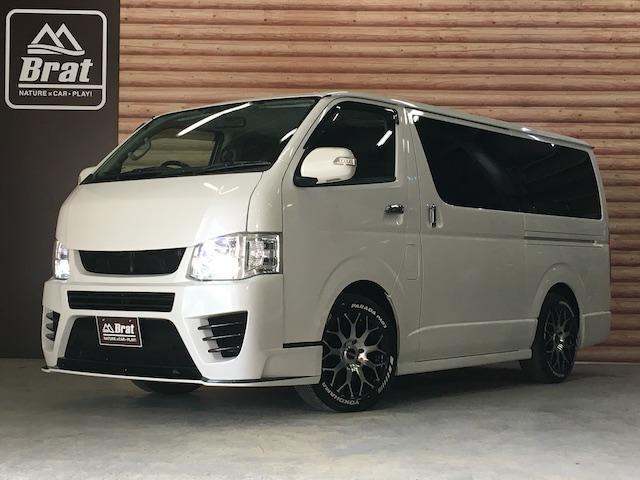 トヨタ スーパーGLプライムセレ DT 4WD SDナビ フルエアロ