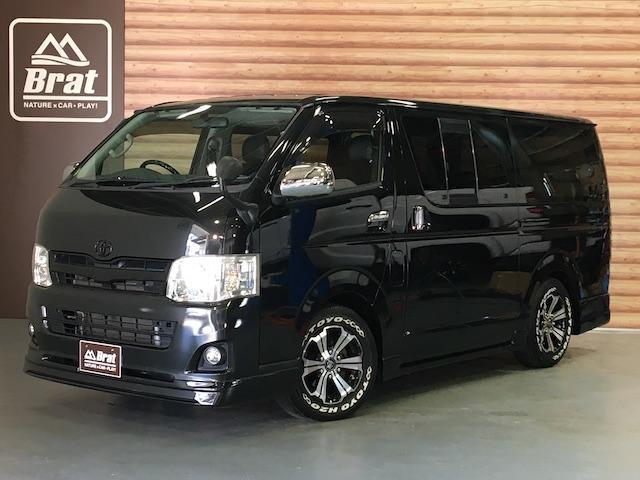 トヨタ ロングスーパーGL 4WD ローダウン CARVINベッドキット シートカバー 新品バルベロ16インチAW TOYOH20 EUROUスポイラー ルーフスポイラー SDナビ HID LEDテール/流れる光ウインカー