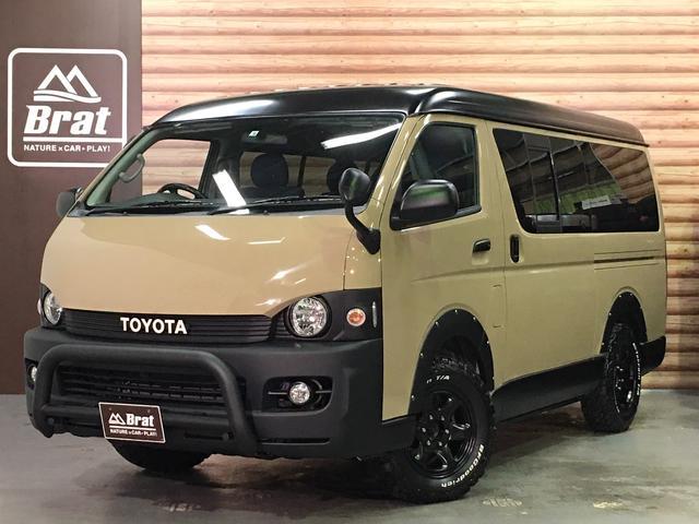 トヨタ GL 4WD 丸目ライト/バッドフェイス NEWペイント/クイックサンド JAOSオーバーフェンダー ブルバー デニムシートカバー BRUT BR-44新品ホイール BFグッドリッチA/T新品タイヤ ETC