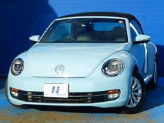 VW ザ・ビートル・カブリオレベースグレード 地デジ純正メモリーナビ Bカメラ HID
