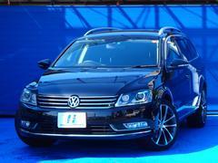 VW パサートヴァリアントTSIコンフォートライン 地デジ社外HDDナビ Bカメラ