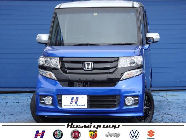 ホンダ G・Lパッケージ 4WD ワンオーナー車 社外SDナビ HID 左側パワースライドドア シートヒーター ETC