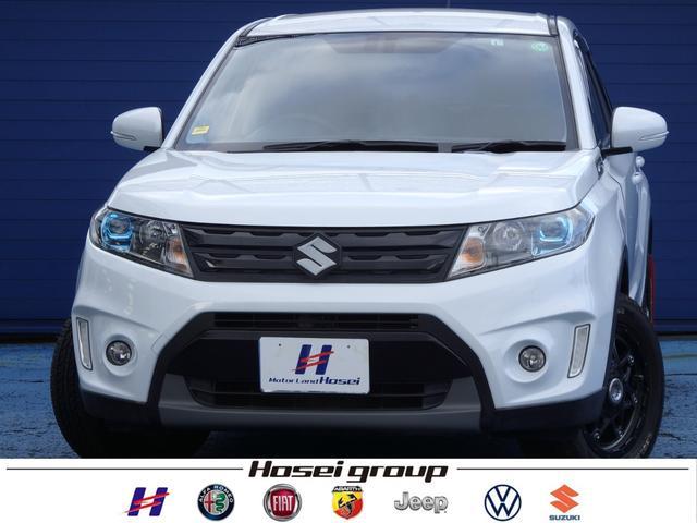 スズキ エスクード ベースグレード 4WD ワンオーナー車 社外SDナビ LED 衝突軽減ブレーキ ハーフレザーシート パドルシフト ETC