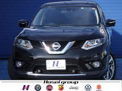 エクストレイル20Xtt エマージェンシーブレーキパッケージ 4WD ワンオーナー車 純正SDナビ LED 衝突軽減ブレーキ 防水シート 純正18AW ETC