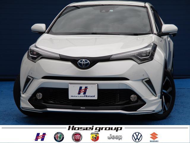 トヨタ C-HR G 純正SDナビ LED 衝突軽減ブレーキ レザーシート クルーズコントロール 純正18AW ETC