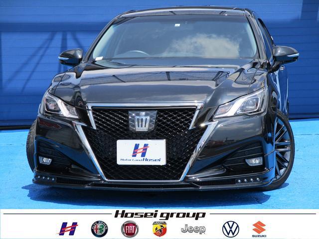 トヨタ アスリートS-T 純正SDナビ LED 衝突軽減ブレーキ サンルーフ パワーシート 純正18AW ETC