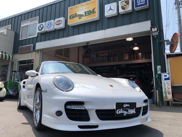 ポルシェ 911 911ターボ 4WD HDDナビ フルセグTV 革シート
