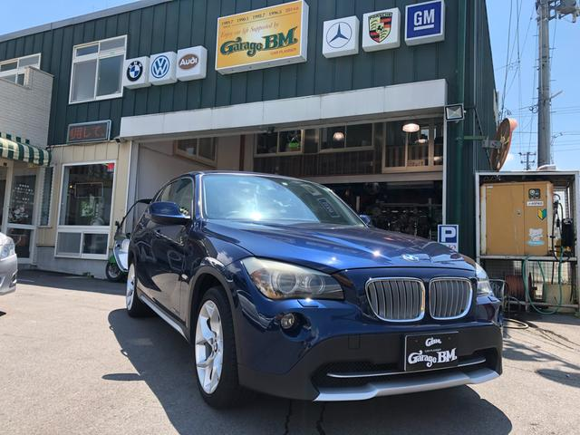 BMW X1 xDrive 25i 4WD レザーシート サンルーフ HIDヘッドライト ETC