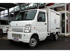 キャリイトラック4WD 保冷車 サイドドア付 エアコン パワステ