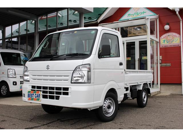 スズキ KCエアコン・パワステ 4WD サポカー 届出済み未使用車