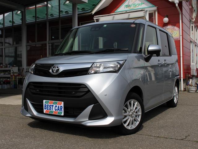 トヨタ タンク X S 4WD スマアシ 左電動スライド ブルートゥースナビ