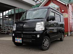 NV100クリッパーバンGX 4WD エマージェンシーブレーキ フル装備 ABS Wエアバッグ キーレス モケットシート プライバシーガラス リアヒーター フォグランプ 後席分割シート 純正CDチューナー 切替式4WD 成約済み