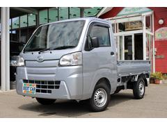 ハイゼットトラックスタンダード 4WD エアコン パワステ 届出済み未使用車 エアバク ABS オートライト ドアバイザー フロアゴムマット