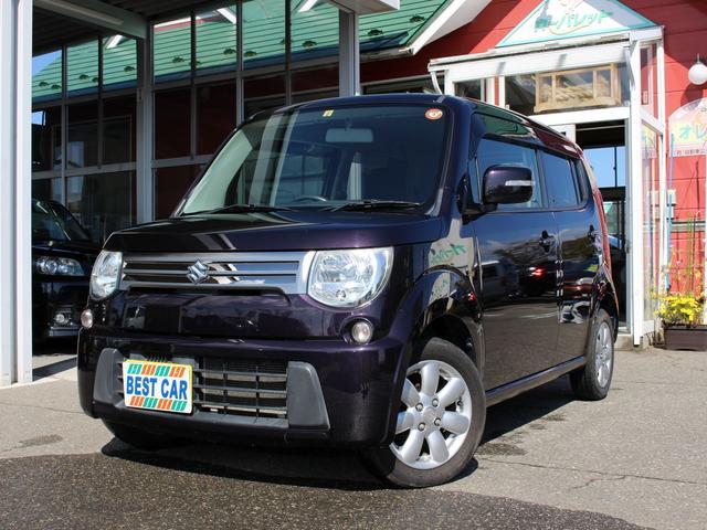 スズキ Xセレクション 4WD キーフリー オートエアコン バックカメラ付純正CDチューナー 運転席シートヒーター HIDオートライト 純正アルミホイル