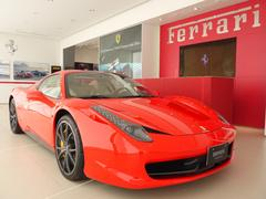 フェラーリ 458スパイダーベースグレード ディーラー車 20インチスポーツホイール