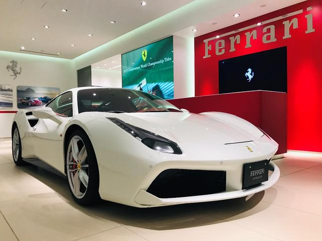 フェラーリ D車 Ferrari認定中古車 フロントリフトシステム