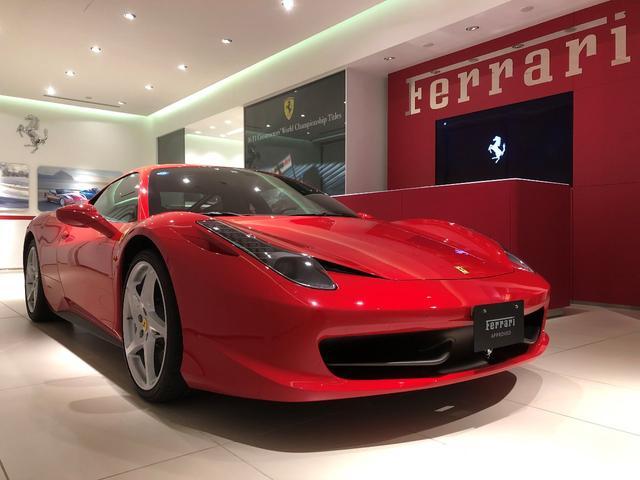 フェラーリ D車 フロントリフトシステム アダプティブヘッドライト