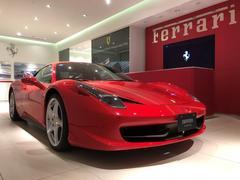 フェラーリ 458イタリアD車 フロントリフトシステム アダプティブヘッドライト
