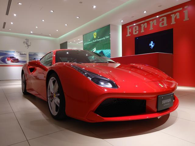フェラーリ ベースグレード D車 1オーナー フロントリフト 鍛造 カーボンドライバーズゾーン+LEDステア カーボンリアエアダクト デイトナシート リアカメラ 可変ライトシステム ダッシュボードカラーレザー カラーカーペット