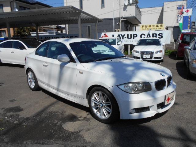 BMW 120i Mスポーツパッケージ ハーフレザーシート ETC キーレス 純正オーディオ 純正AW