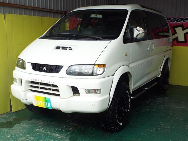 三菱 スーパーエクシードクリスタルライトルーフリフトUPMTタイヤ
