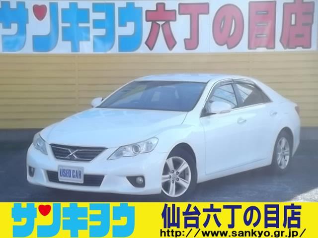 トヨタ 250G リラックスセレクション 純正SDナビ ワンセグTV