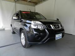 エクストレイル20X 切替4WD ワンオーナー HDDナビ フルセグTV