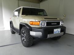 FJクルーザーベースグレード 4WD ワンオーナー 純正SDナビ ワンセグ