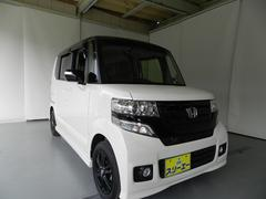 N BOXカスタム G・Lパッケージ CVT 左電動スライドドア HID