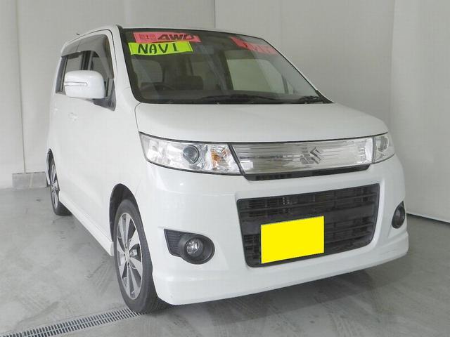 スズキ T 4WD 社外ナビ フルセグTV プッシュスタート