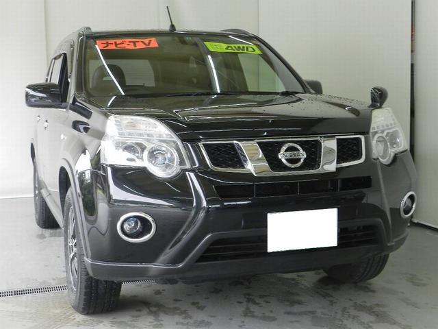 日産 20X 切替4WD 社外HDDナビ フルセグTV ETC